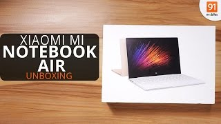 Xiaomi Mi Notebook Air Unboxing + First Impressions! (feat. Macbook Air)