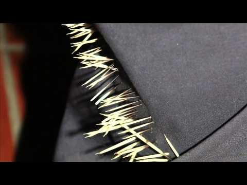 hqdefault - Textile de piquants de porc-épic