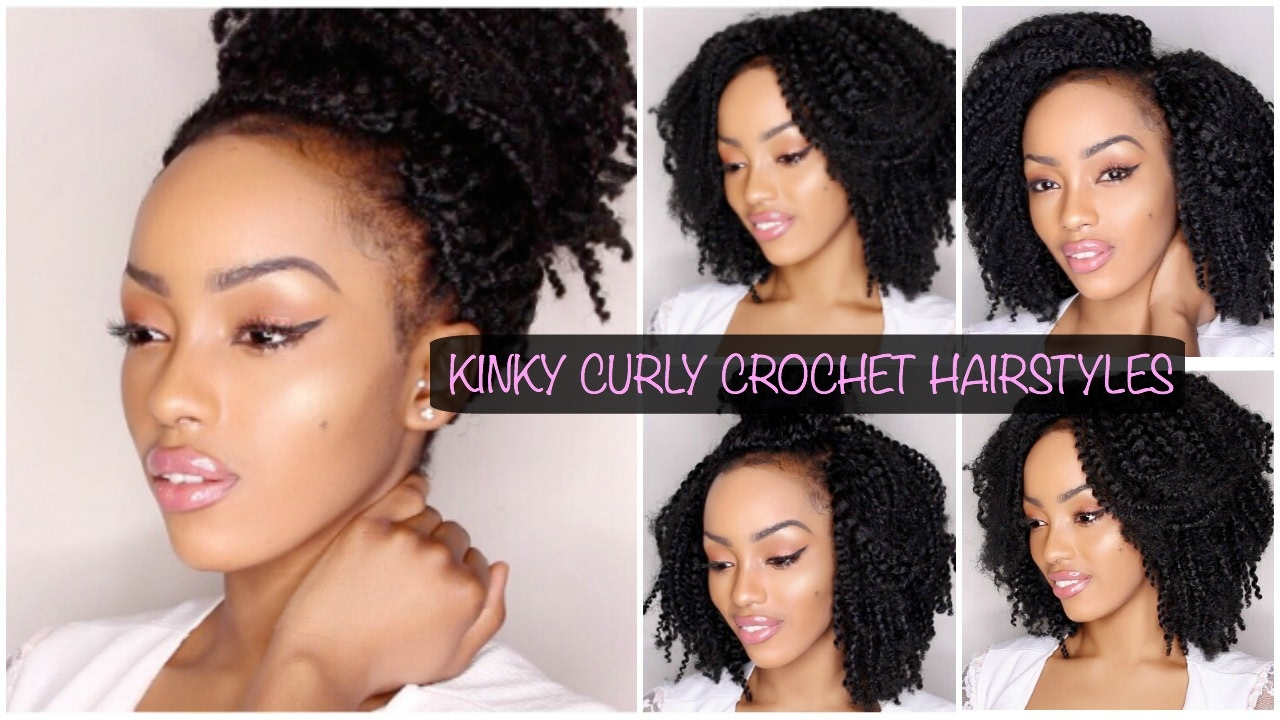 Hair Styles For Curly Hair Braids: HAIRSTYLES FOR KINKY CURLY CROCHET BRAIDS