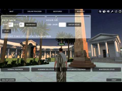 Virtual Hadrian's Villa Walkthrough