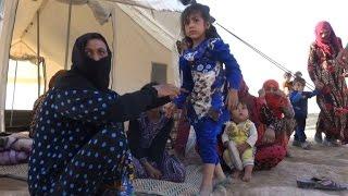 رحلة محفوفة بالمخاطر تقود العراقيين الهاربين من الموصل الى سوريا