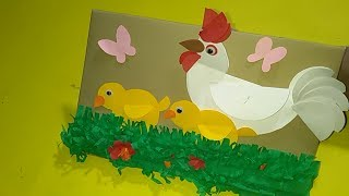 Amazing Home Decor Idea  How to Decor Wall With Paper Crafts  Kids Room Decor Ideas