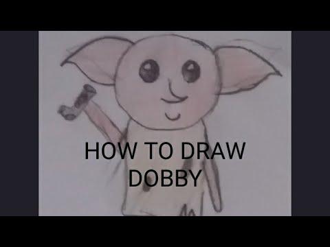 Draw With Eilidh- How To Draw Dobby!