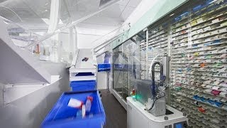Ward dispensing, hospital, mail-order and community pharmacy - with CONSIS robotic systems