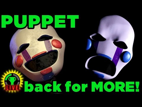 FNAF Puppet's REVENGE! - Five Nights at Candy's (FNAC Part 2)