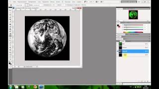 Как сделать 3D изображение Photoshop CS5 видеоурок