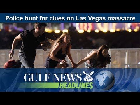 Police hunt for clues on Las Vegas massacre - GN Headlines