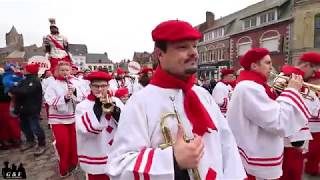 Carnaval d'hiver 2019 à Cassel