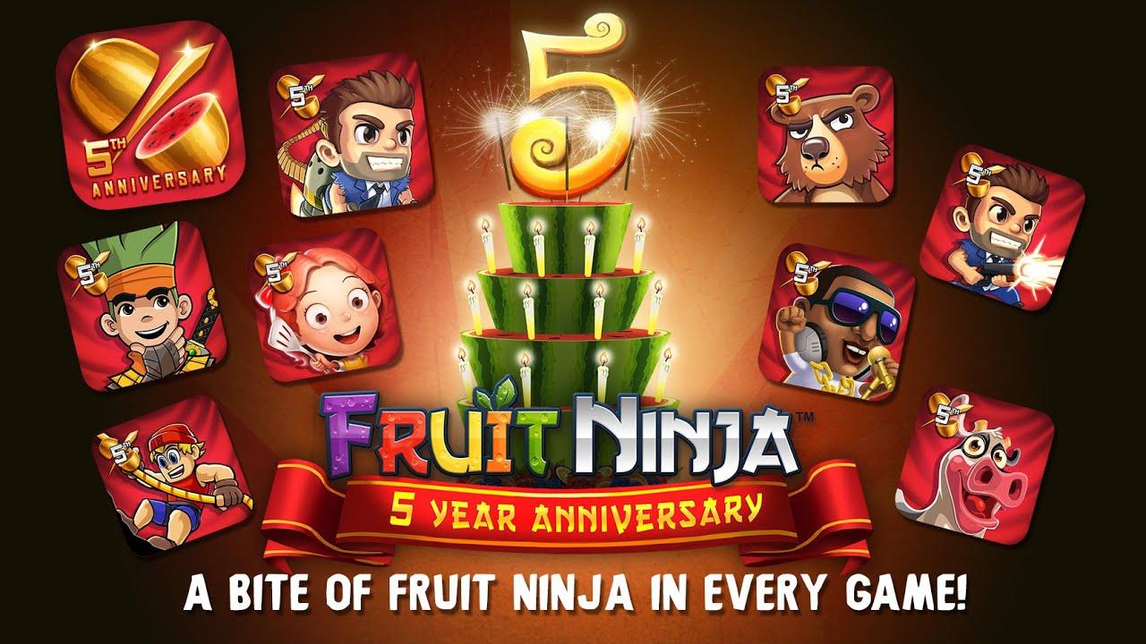 Fruit ninja 5 -