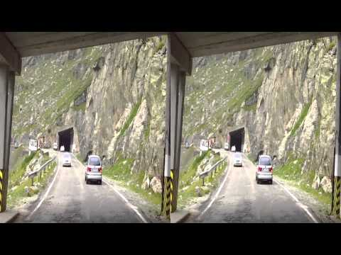 Transfagarasanul 3D-red-blue 2013