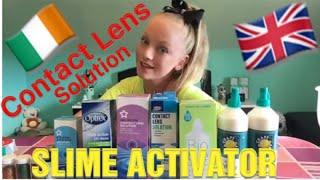 Making Slime Uk & Ireland/ TESTING ACTIVATORS /Best Contact Solutions/ Superdrug Activators EP 2 thumbnail