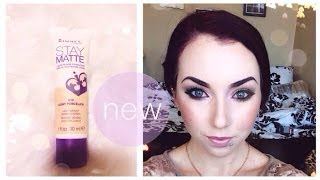 NEW First Impression Rimmel Stay Matte Liquid Mousse Foundation