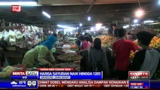harga sayuran di kota kembang melonjak