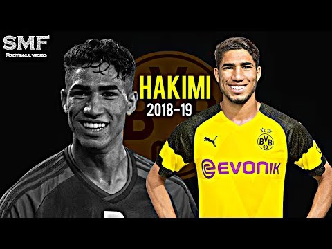 Achraf hakimi 2018-19 ● Best skills and goals ● أشرف حكيمي ●  HD thumbnail