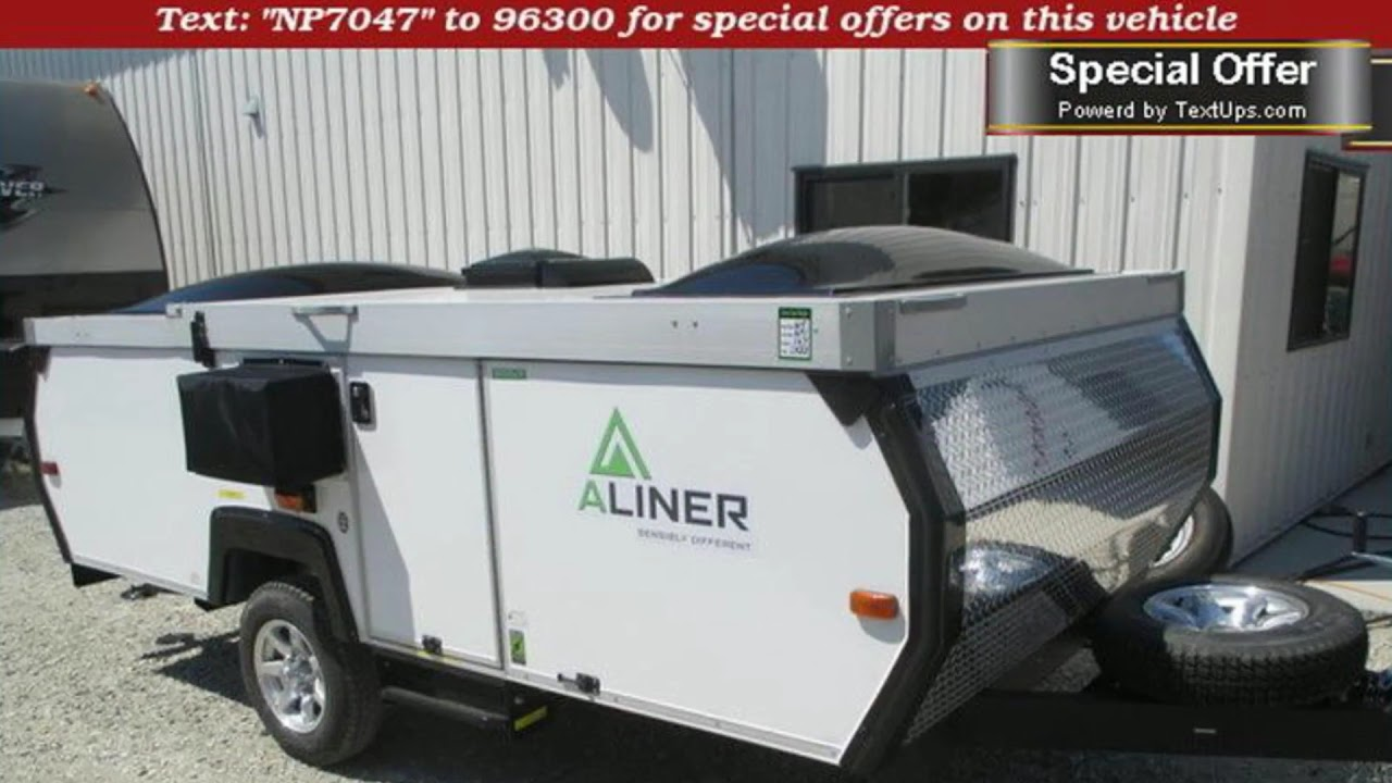 new 2017 aliner scout pop up camper for sale near racine kenosha and milwaukee wi