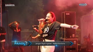 Jangan Nget ngetan - Nella Kharisma - Lagista live Alun Alun Sragen 2019