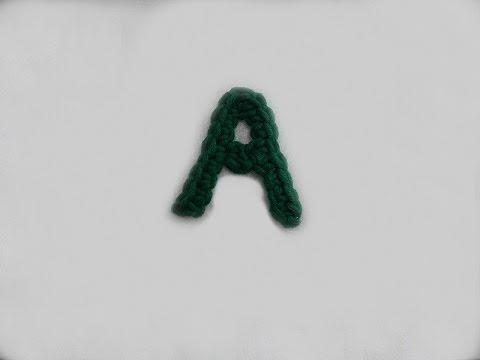ABC Häkel-Buchstaben A - YouTube