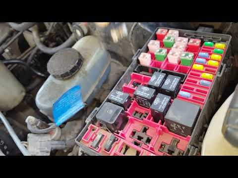 F150 AC Clutch Fuse and Relay Locations