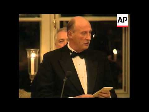 NORWAY: MIDDLE EAST PEACE SUMMIT - BANQUET HELD