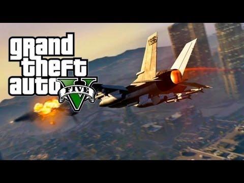 GTA Online: Calling In An Airstrike - Merryweather Security