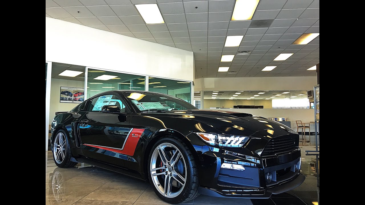 Ford Mustang Roush Stage Iii 670 Hp Lithia Lincoln Of Fresno You