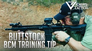 BCM Training Tip: Buttstock Length