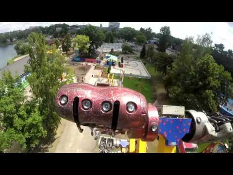 Śląskie Wesołe Miasteczko Chorzów 2016 Przejażdżka   Circus Hoppala  (GoPro On Ride)