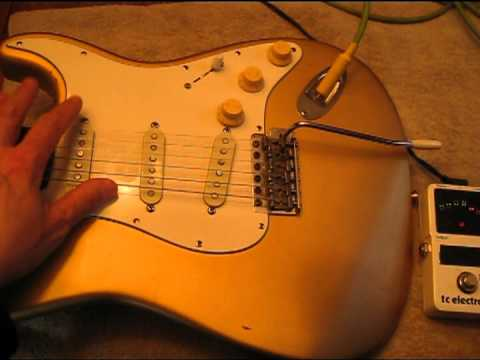 How to intonate your guitar the right way