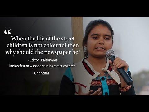 Editor at 19: A street kid who runs a newspaper