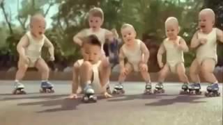 Mấy bé tập theo điệu nhạc nhảy hay nè
