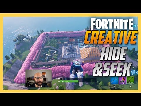 Fortnite Creative Hide and Seek on Electrobombs map! | Swiftor