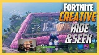 Fortnite Creative Hide and Seek on Electrobombs map! | Swiftor