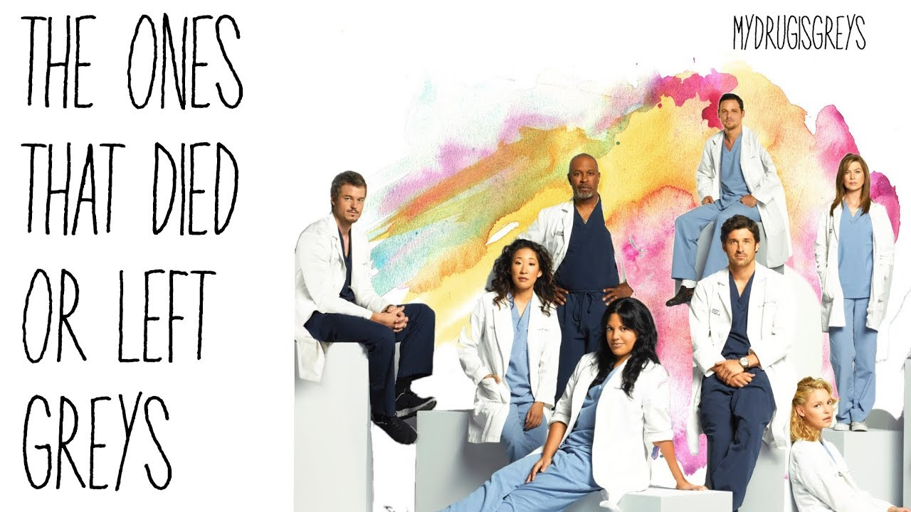 Grey\'s Anatomy Everyone Who Has Died or Left Edit - YouTube