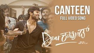 Canteen Song Dear Comrade Kannada Vijay Deverakonda Rashmika Bharat Kamma