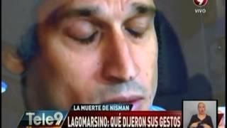 Lagomarsino: Qué dijeron sus gestos