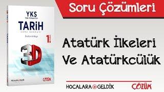 3D Soru Bankası Atatürk İlkeleri ve Atatürkçülük Soru Çözümleri