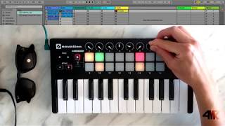 cHILLHOP on Novation LAUNCHKEY Mini Flume, San Holo, Doja Cat, ta-ku, ODESZA, RÜFÜS