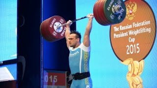 FANTASTIC!!! ILYA ILYIN WORLD RECORD 246 KG / 542 LB CALEN AND JERK @ 105 KG