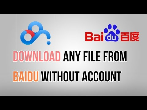 Download file from Baidu (Without account and software)(2017)