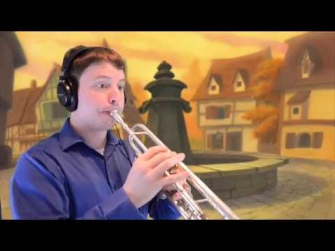 Belle from Beauty and the Beast Trumpet