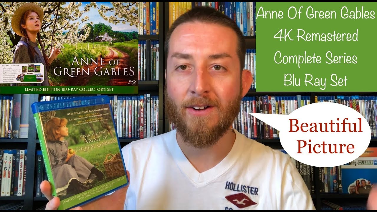 Download Anne Of Green Gables 4K Remastered Complete Original Series Blu Ray Review / Limited Edition HD