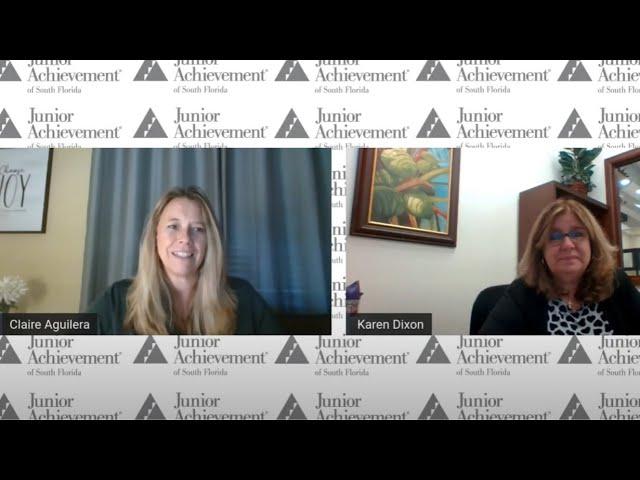 Junior Achievement Speaker Series | Opening a Bank Account with Karen Dixon