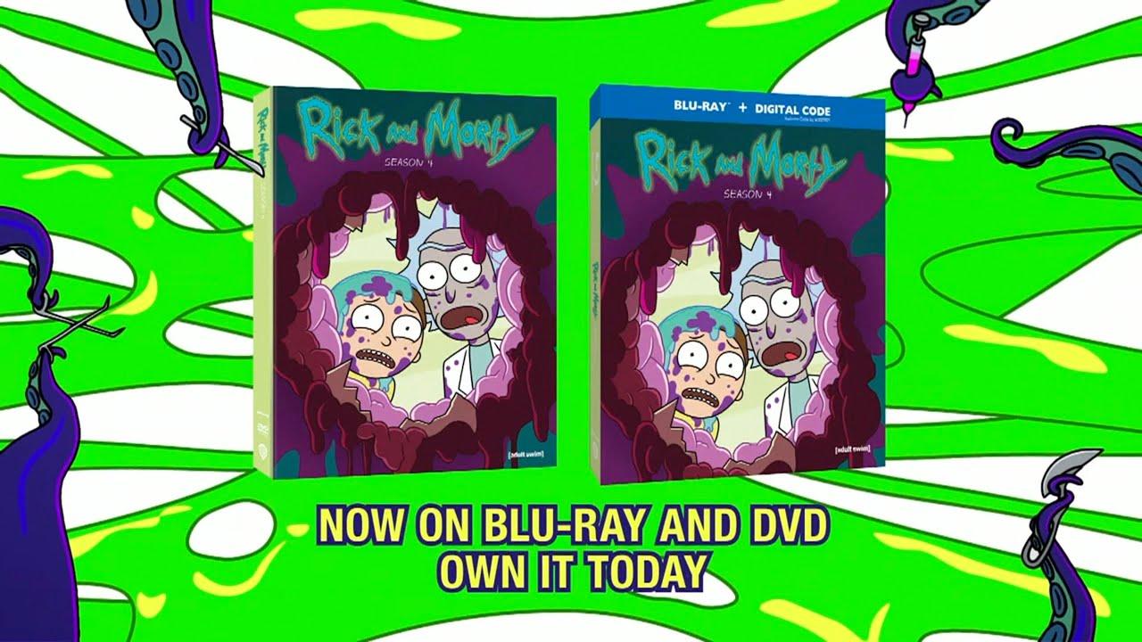 Download [adult swim] - Rick and Morty Season 4 Blu-ray and DVD Promo