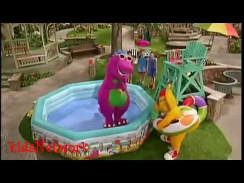 barney swim barney in the water youtube