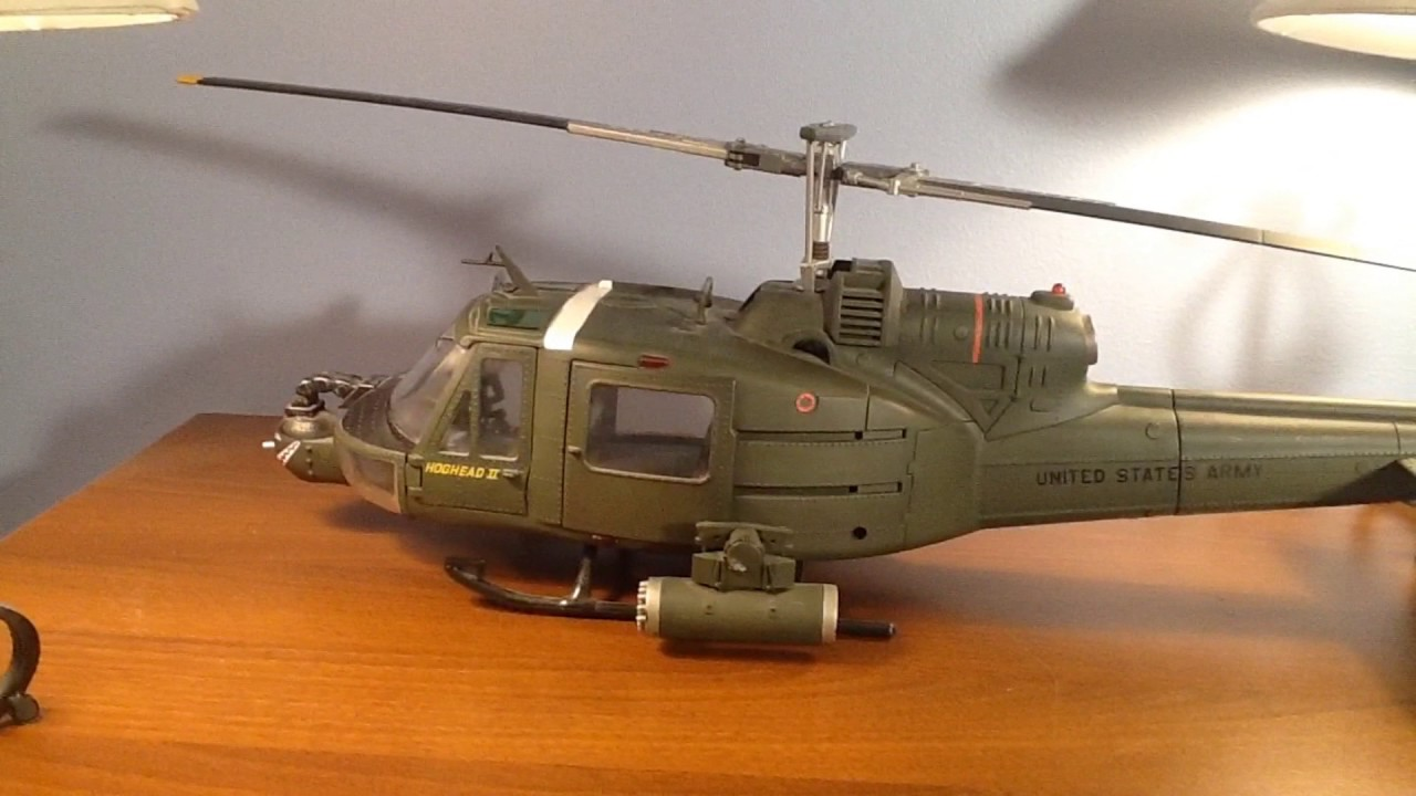21st Century Toys 1 18 Uh 1c Helicopter Review