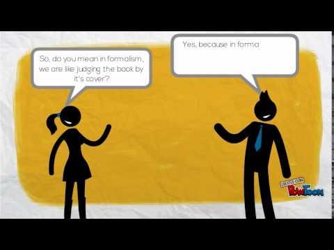 Formalism (a literary theory)