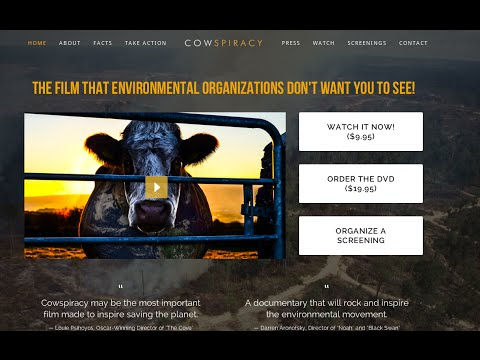 ☆ Review and Giveaway | Cowspiracy: The Sustainability Secret
