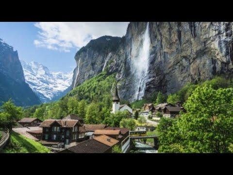 #4 AS MARAVILHOSAS PAISAGENS DA SUÍÇA /LAUTERBRUNNEN Suíça