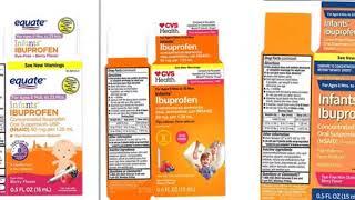 Baby ibuprofen recalled from Walmart, CVS, Family Dollar