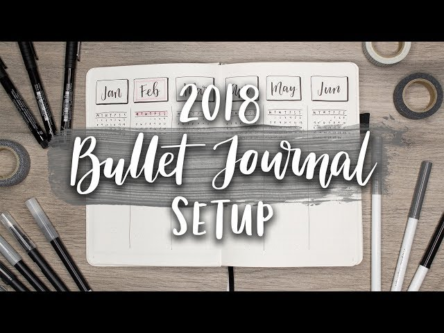 My Bullet Journal Setup 2018